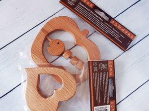 Производство грызунков (прорезывателей для зубов). Ярмарка Мастеров - ручная работа, handmade.