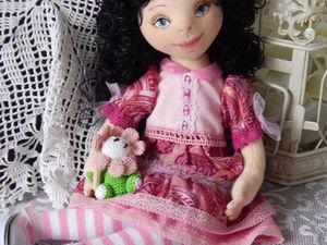 Летние скидки на кукол-девочек 30-40%. Ярмарка Мастеров - ручная работа, handmade.