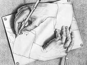Метаморфозы Эшера.. Ярмарка Мастеров - ручная работа, handmade.