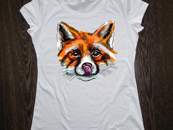 3 футболки с ручной росписью  по цене 2!  До 26.09.16 | Ярмарка Мастеров - ручная работа, handmade