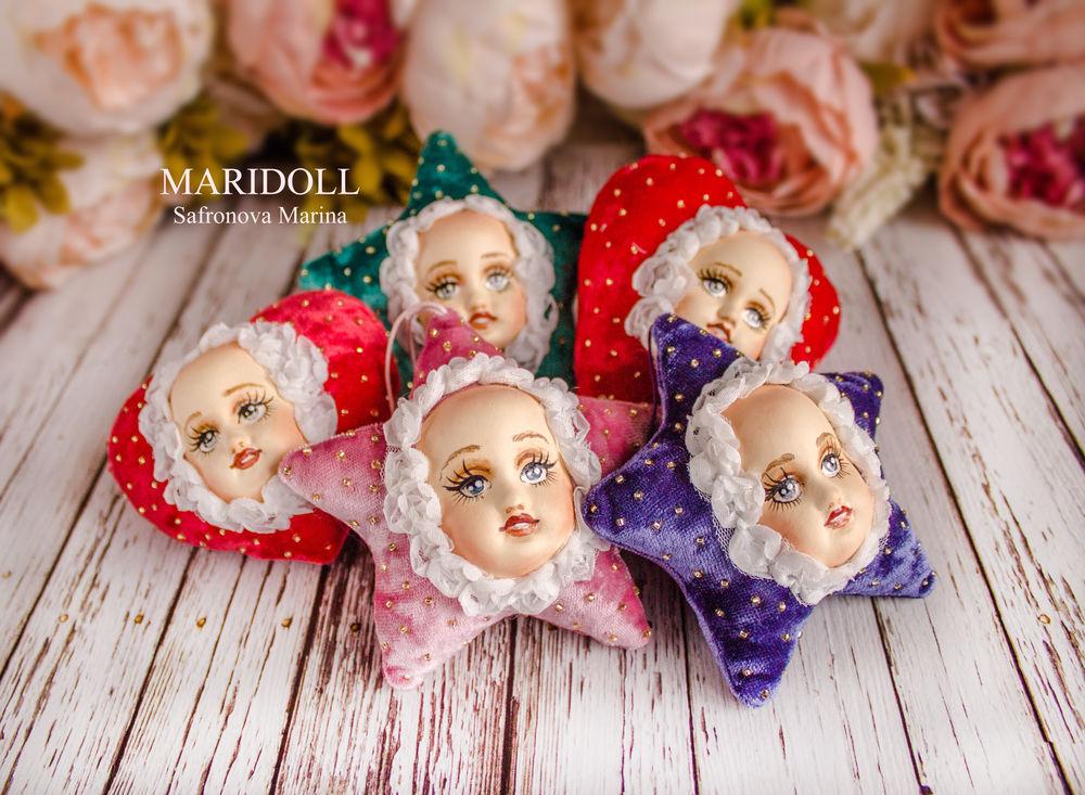 новогодние подарки, антикварные куклы