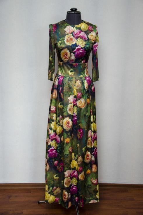 платье, индивидуальный пошив