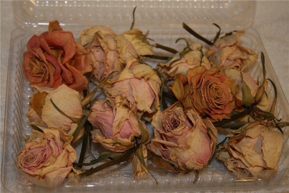 Что сделать из сухих роз своими руками 6