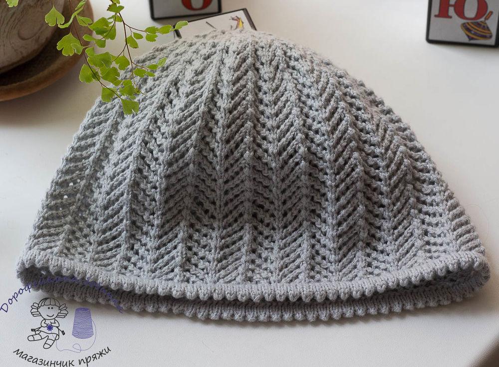 шапочка из пряжи alabama