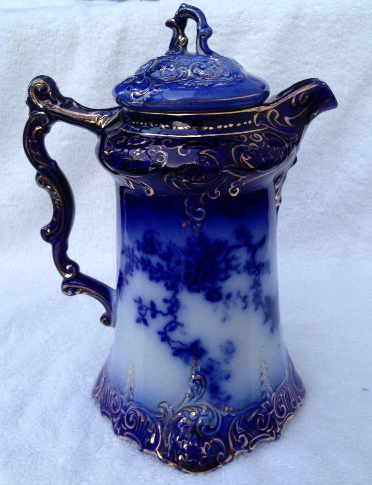 Flow blue — антикварная красота из Англии, фото № 28