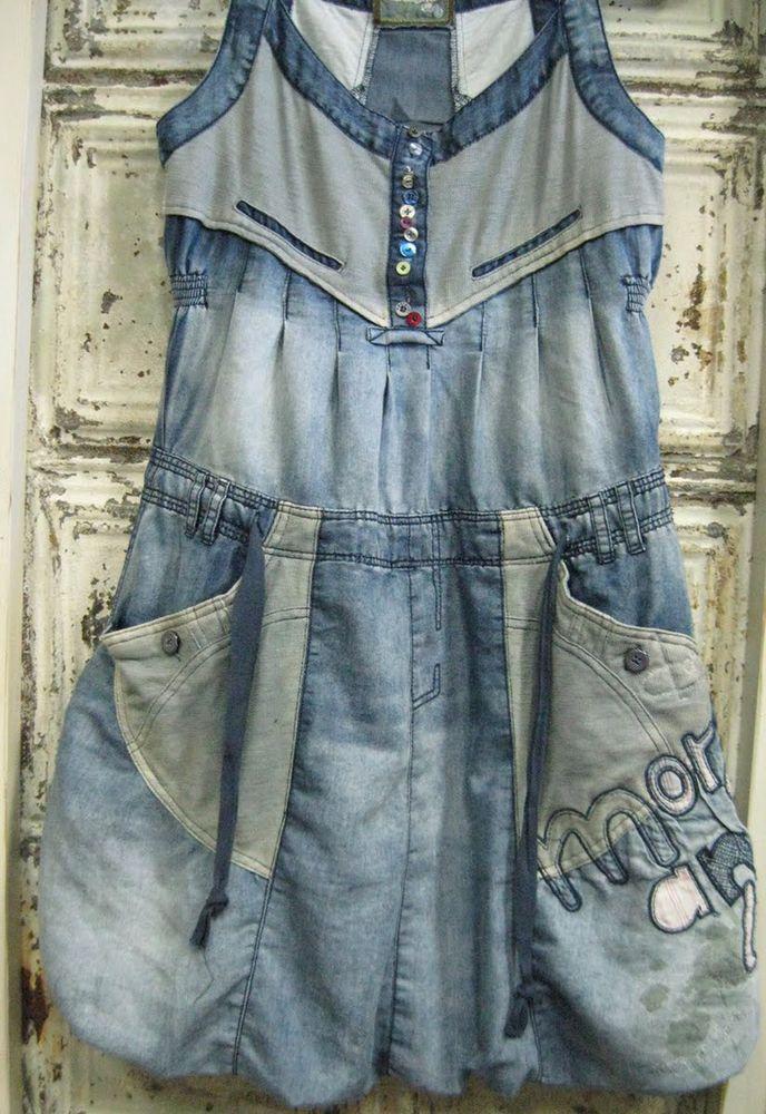 джинсовый бохо