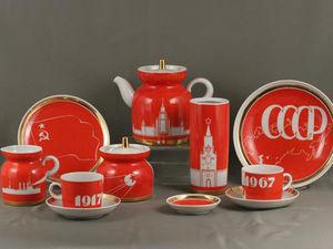 Советский агитационный фарфор — уникальный и самобытный. Ярмарка Мастеров - ручная работа, handmade.