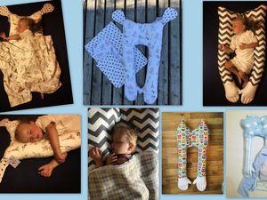 Акция на подушки сплюшки для детей с рождения. Ярмарка Мастеров - ручная работа, handmade.