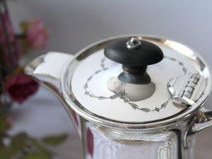 Дополнительные фотографии антикварного кофейника. Ярмарка Мастеров - ручная работа, handmade.