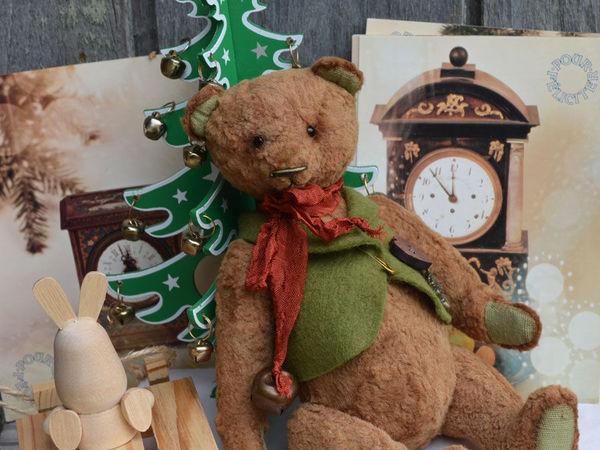 Новый Новогодний мишка с подарочками! | Ярмарка Мастеров - ручная работа, handmade