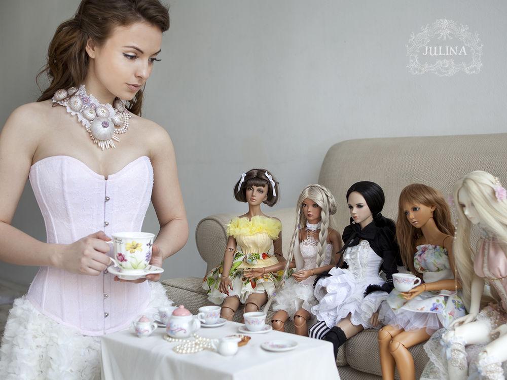 куклы, лето