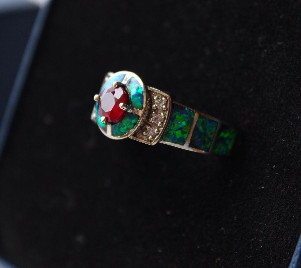 эфиопский опал, бриллиант