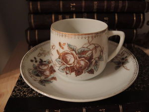 Дополнительные фото антикварных чайных пар 20-гг. Вербилки, бывший з-д Гарднера | Ярмарка Мастеров - ручная работа, handmade