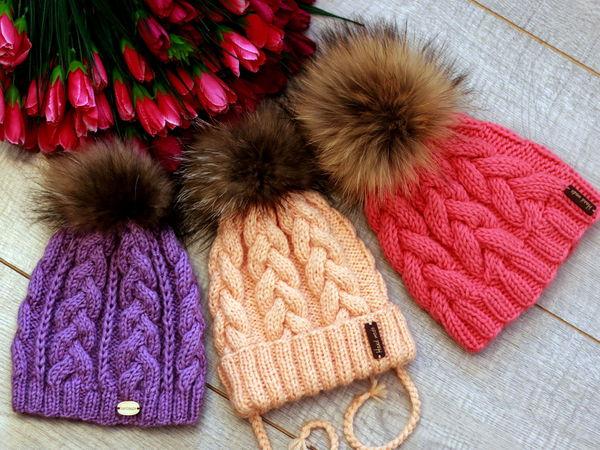 Скидка 15% на красивые шапочки заканчивается 19 сентября | Ярмарка Мастеров - ручная работа, handmade