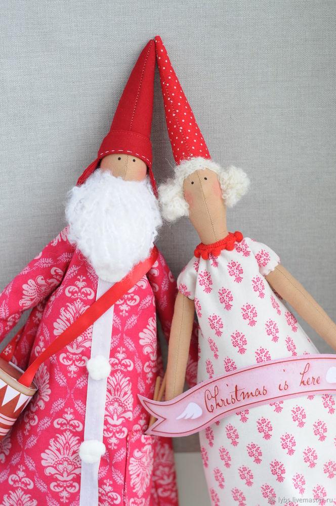 кукла ручной работы, тильда, кукла тильда, санта, рождество, рождественский ангел, санта клаус, дед мороз, пикси, тильдочка, ангел тильда, кукла, новогодний декор, новый год, распродажа, акция, скидки, текстильная кукла, успей купить