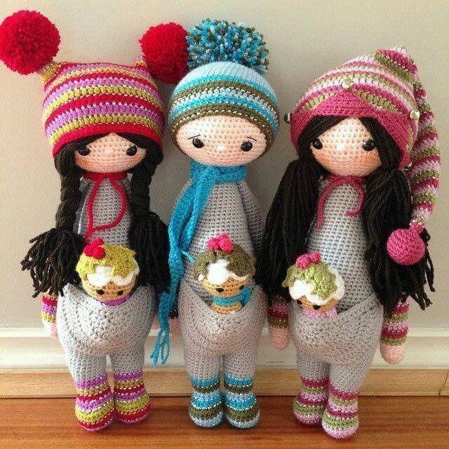 куклы, куклы вязаные крючком