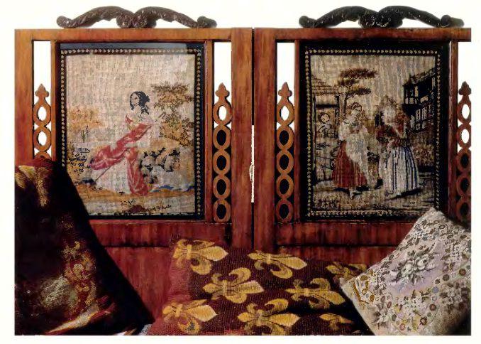 Схема для вышивки произведения искусства