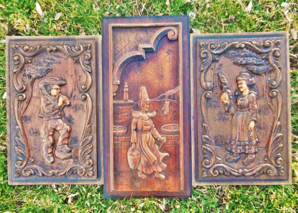 деревянные панно