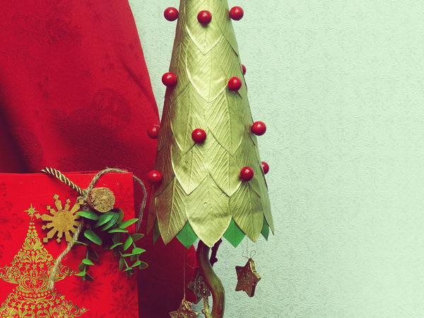 Создаём ёлочку из остатков фоамирана | Ярмарка Мастеров - ручная работа, handmade