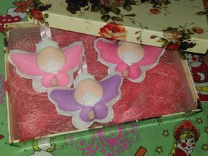 Шьем очаровательных ангелочков на елку. Ярмарка Мастеров - ручная работа, handmade.