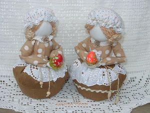 Куклы-кубышки с травами и вышивкой | Ярмарка Мастеров - ручная работа, handmade