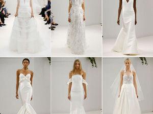Неделя свадебной моды в Нью-Йорке: 100 лучших подвенечных платьев. Ярмарка Мастеров - ручная работа, handmade.