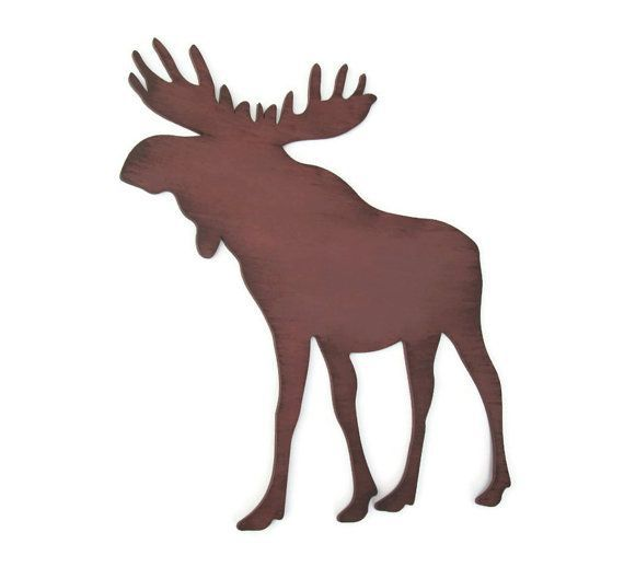 Moose Wall Decor rustic cabin sign lodge decor by FischerFineArts, $29.00