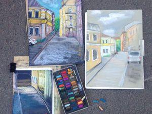 Городские зарисовки и пленэр   Ярмарка Мастеров - ручная работа, handmade