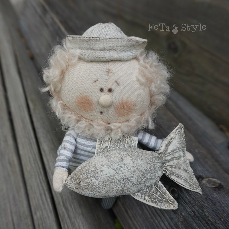 подарок рыбаку, новая кукла