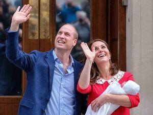 Кейт Мидлтон с новорожденным принцем вышла в платье, вызвавшем дежавю. Ярмарка Мастеров - ручная работа, handmade.