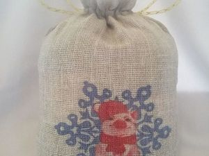 Внимание Акция на мешочки с символом 2019 года!. Ярмарка Мастеров - ручная работа, handmade.
