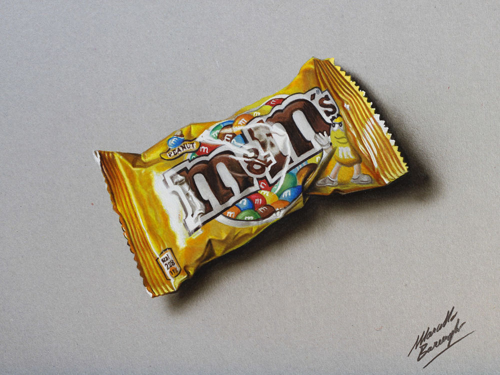 Amazing Hyperrealism by Artist Marcello Barenghi, фото № 44