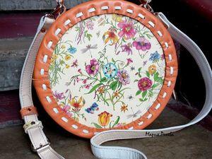 Акция на летнюю сумочку!. Ярмарка Мастеров - ручная работа, handmade.