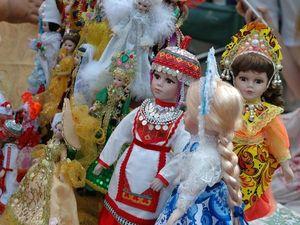 """Мои куклЁшки на городском празднике """"Литературное варенье"""". Ярмарка Мастеров - ручная работа, handmade."""