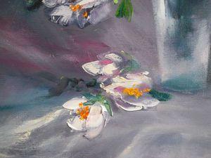 Мастер-класс по интуитивной живописи: пишем маслом букет цветов. Ярмарка Мастеров - ручная работа, handmade.