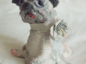Москва. 25 и 27 июня. Мк по реалистичной собаке. | Ярмарка Мастеров - ручная работа, handmade