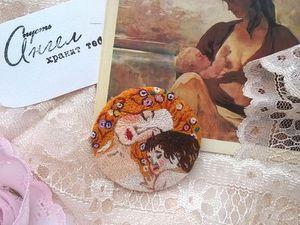 Праздничные скидки на вышитые броши! | Ярмарка Мастеров - ручная работа, handmade