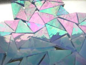 Новинка! Самое новогоднее стекло. Spectrum «Iridescent».. Ярмарка Мастеров - ручная работа, handmade.