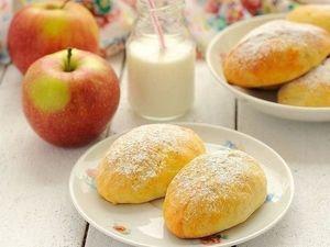 Пирожки из Творожного Теста с Яблоками. Ярмарка Мастеров - ручная работа, handmade.