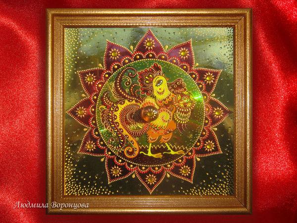 Кто забыл нарисовать новогоднего Петушка? ;)   Ярмарка Мастеров - ручная работа, handmade