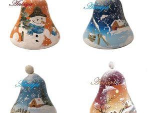В продажу поступили новогодние колокольчики. Ярмарка Мастеров - ручная работа, handmade.