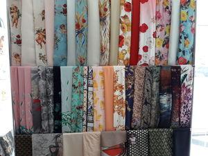 Ткани для пошива, натуральный шелк. Ярмарка Мастеров - ручная работа, handmade.