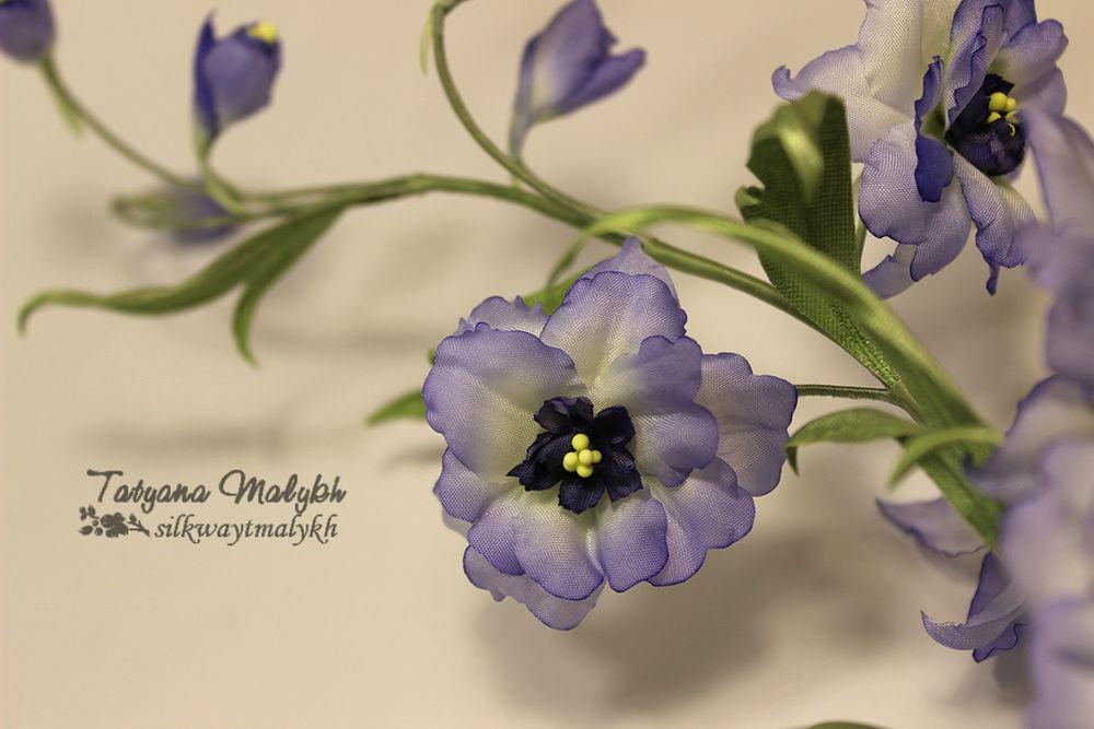 обучение цветоделию, как сделать цветок, общение с мастером