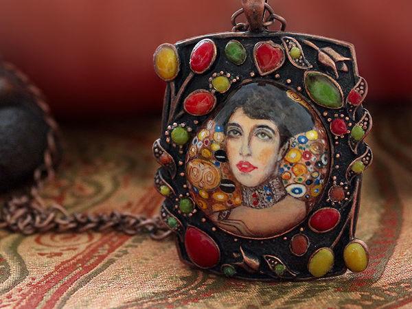 Новая работа! Золотая Адель. Климт. | Ярмарка Мастеров - ручная работа, handmade