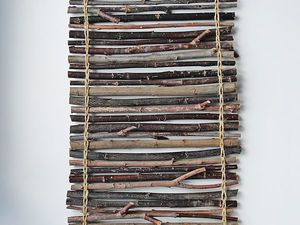 Делаем основу для панно из палочек | Ярмарка Мастеров - ручная работа, handmade