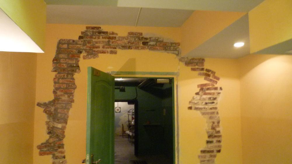 декорационные работы, чернобыль