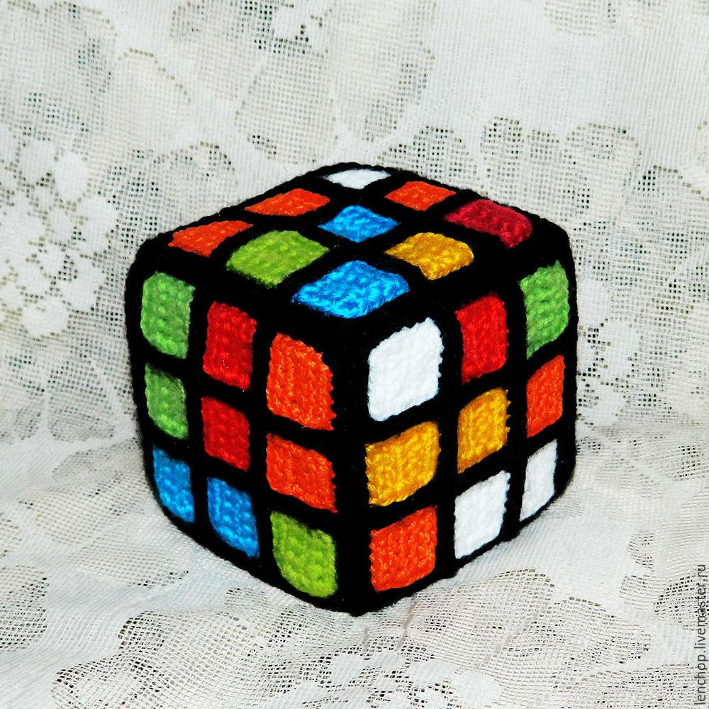 Как сделать кубик Рубика из бисера