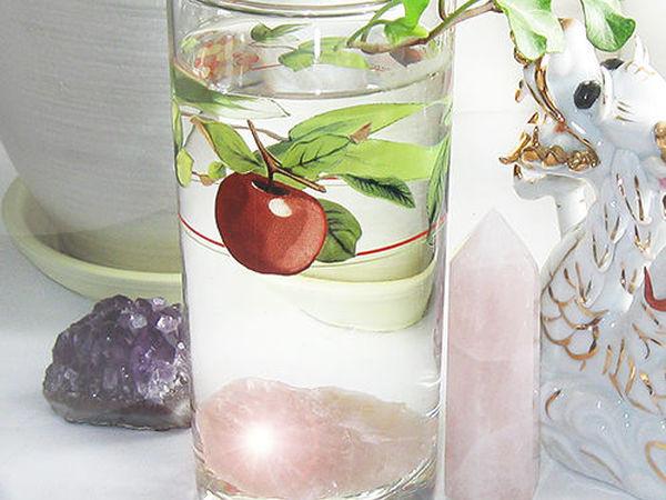 Вода на Розовом Кварце   Ярмарка Мастеров - ручная работа, handmade