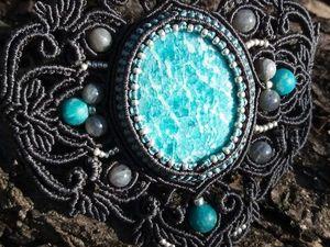 В магазине новика — браслет с очень красивым амазонитом. Ярмарка Мастеров - ручная работа, handmade.