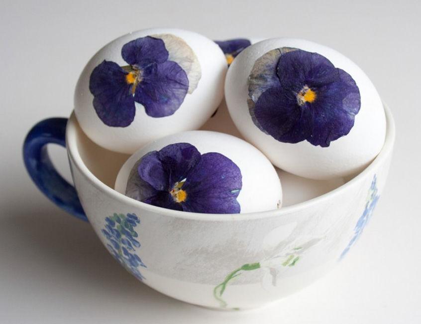 пасхальное яйцо, сухоцветы
